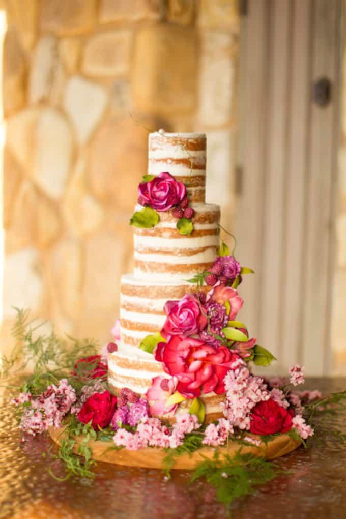Simplistic Wedding Cake