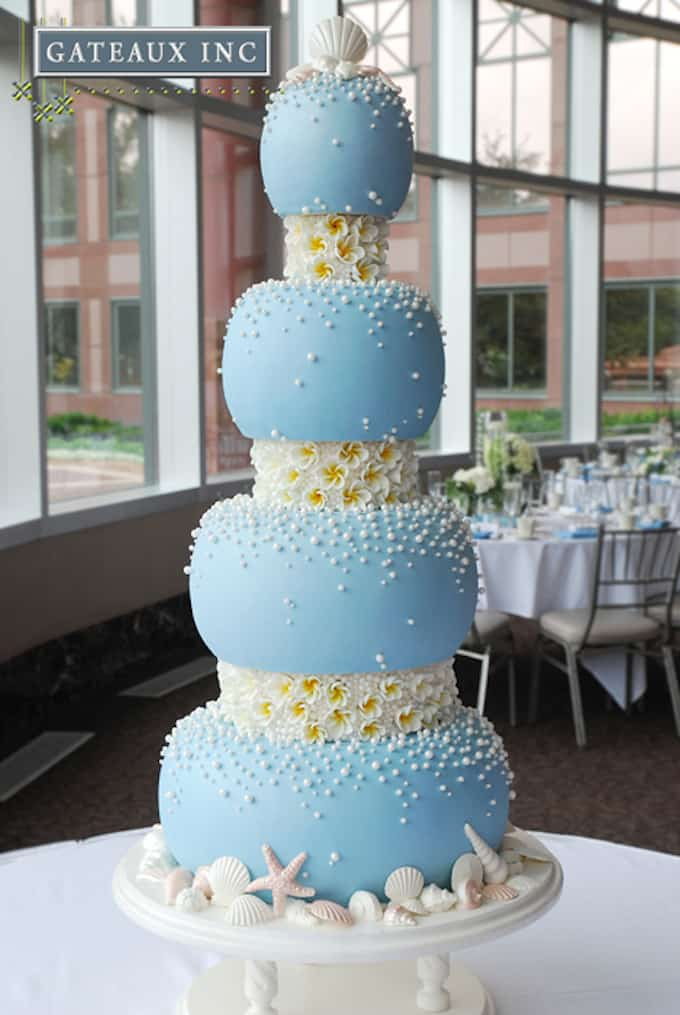 Beach Wedding Cake Ideas Pictures
