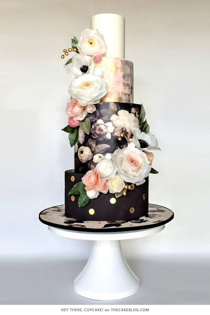 Simple Non Fondant Wedding Cake Ideas