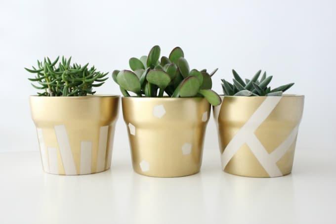 st patrick day pots