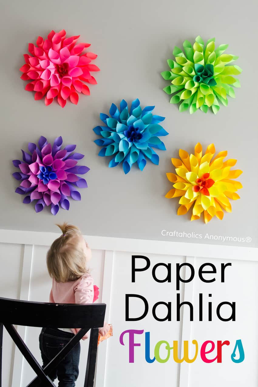 34 Best How To Make Handmade Flowers From Paper And