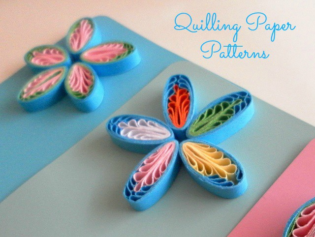 quilling paper flowers