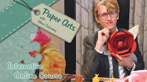 paper flower class