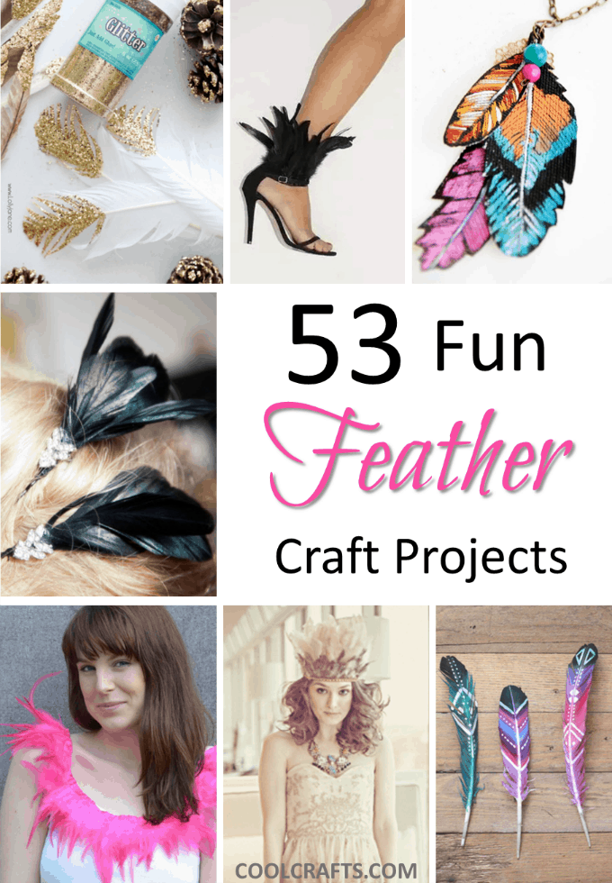 53 clever feather craft ideas for Peacock crafts for adults