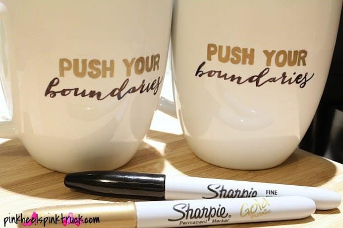 DIY Sharpie Mug Tutorial