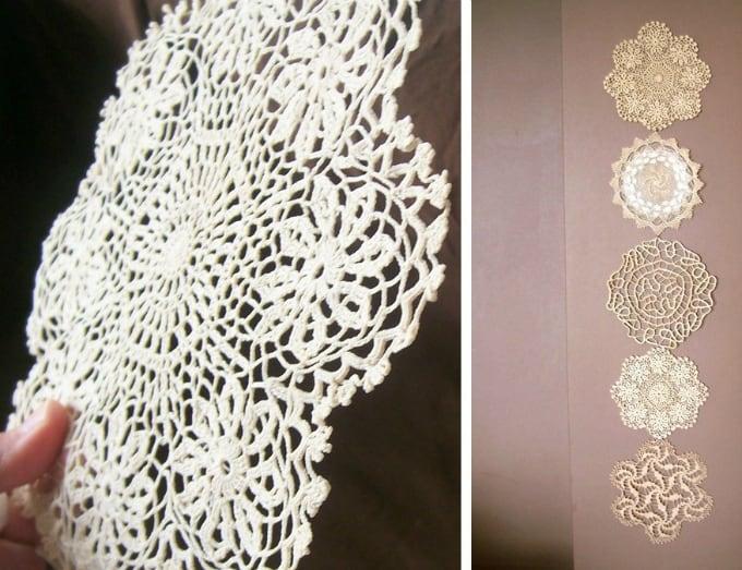 60 Diy Fabric Amp Paper Doily Crafts