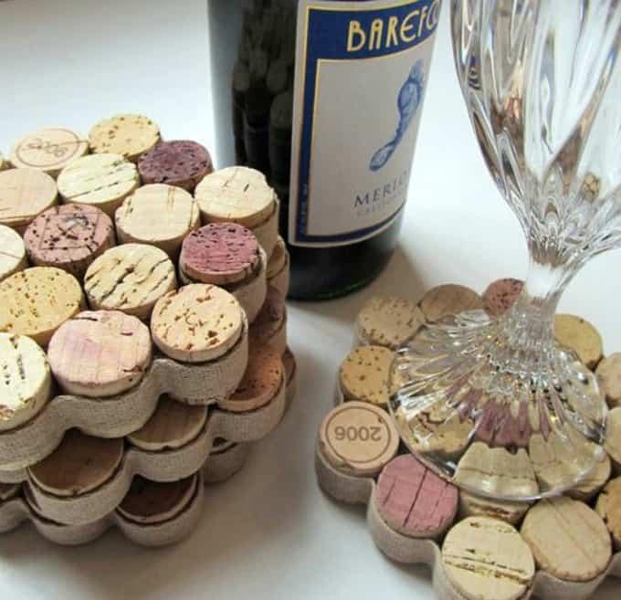 wine glass-worthy coasters