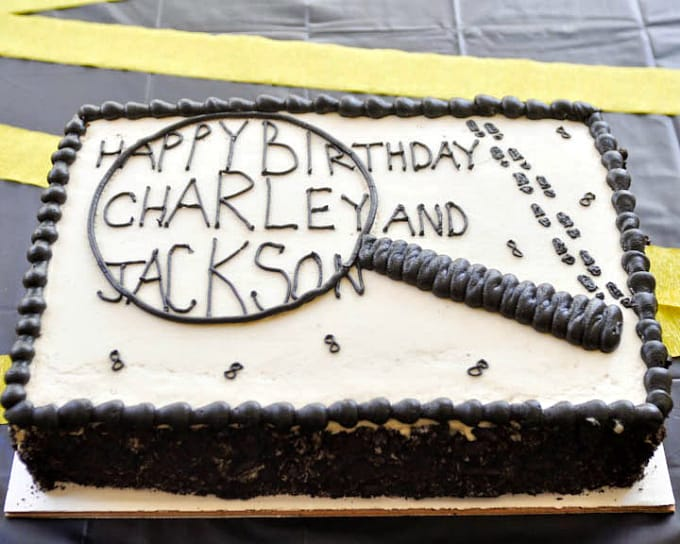 Spy Birthday Cake Images