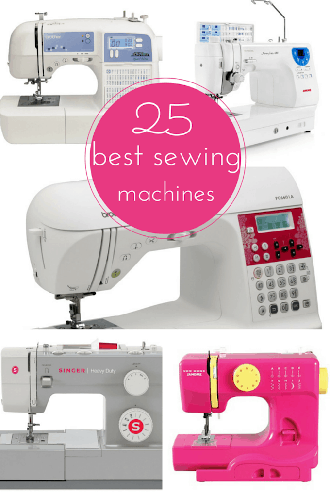 25 Best Sewing Machines Reviewed (2016 Edition) • Cool Crafts : quilting sewing machines reviews - Adamdwight.com
