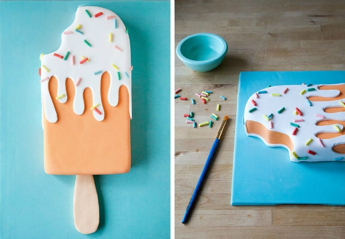 3D Popsicle cake