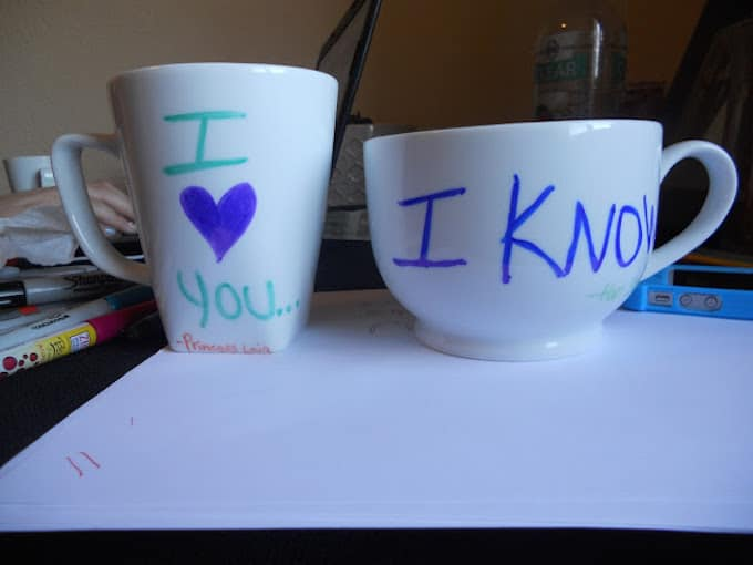 creative sharpie mugs