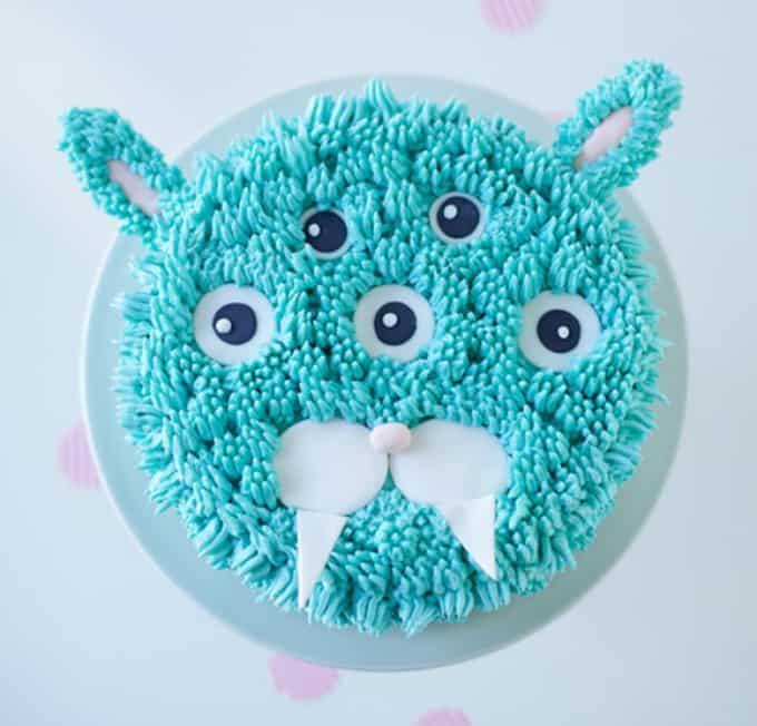 mutant bunny' cake