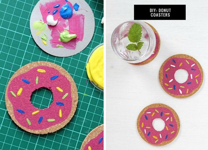 donut coasters
