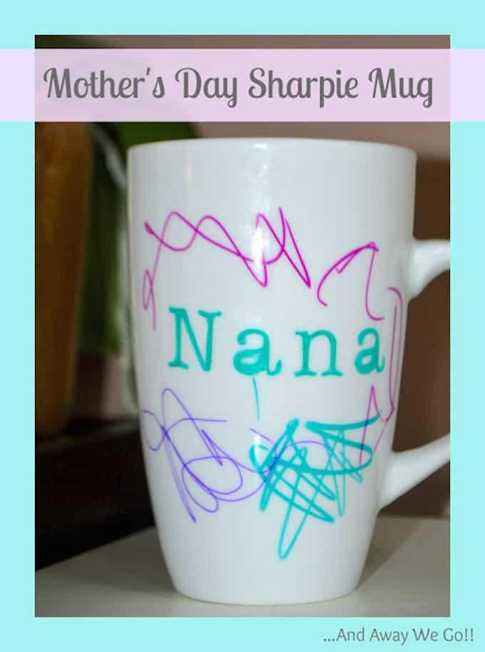 mothers day sharpie mug