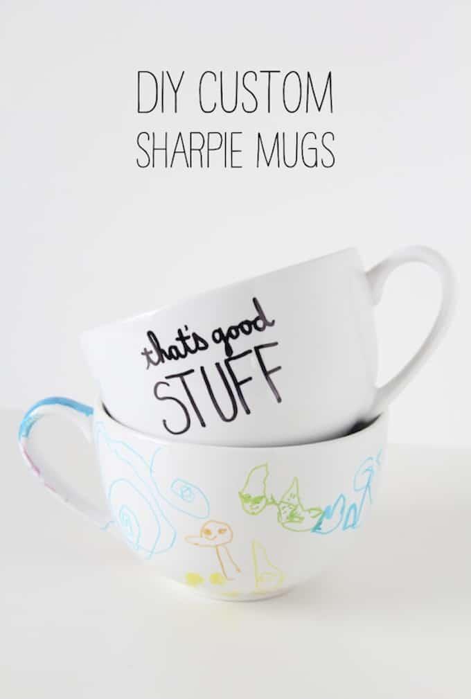 personalized sharpie mug