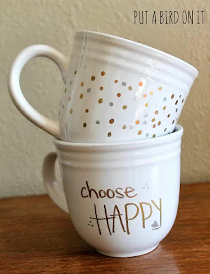west elm inspired sharpie mug