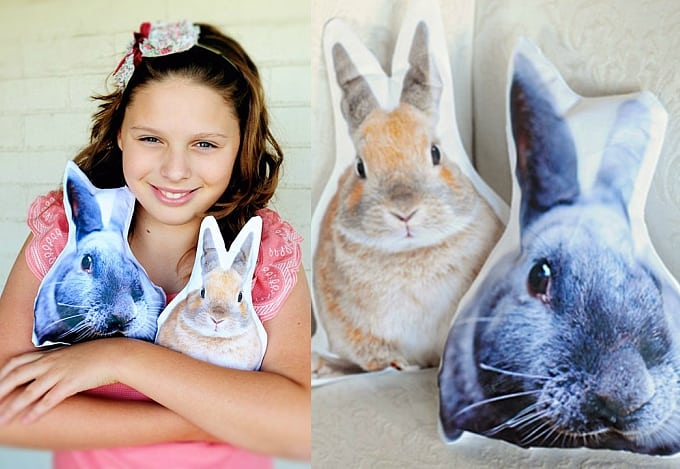 bunny cushions