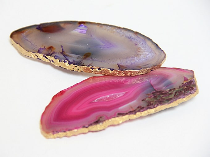 agate stone magnets