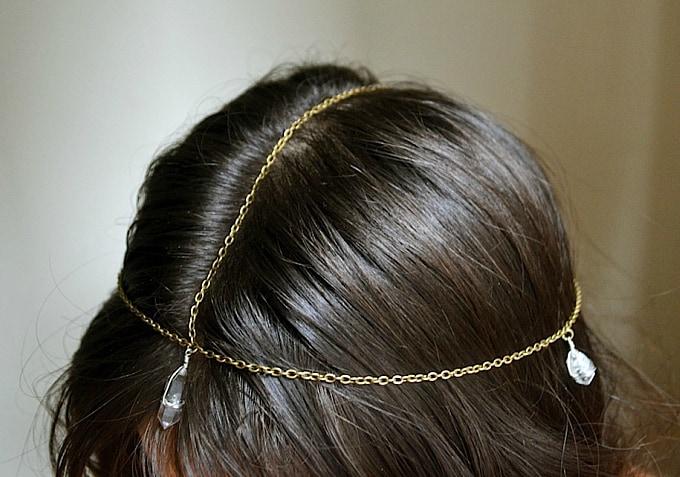 Bohemian chain headpieces