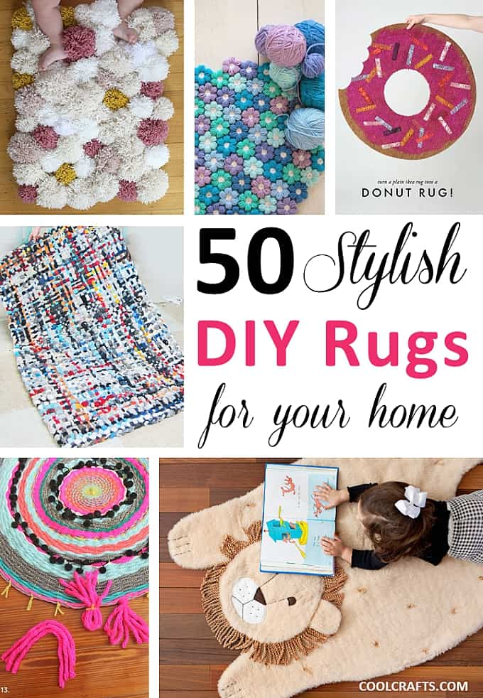 50 Stylish DIY Rugs For Your Home