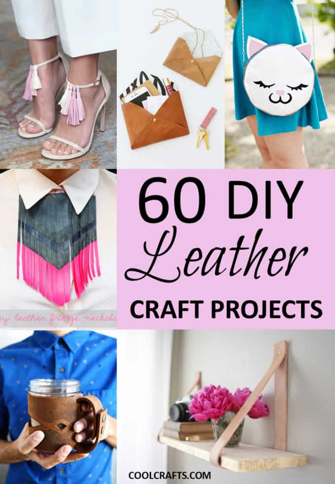 60 leather craft ideas you probably never thought of for Neat craft ideas