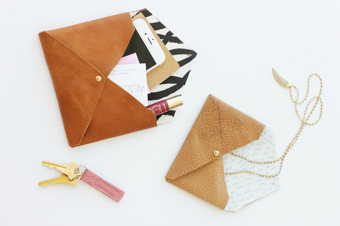 Captivating Diy Leather Envelope Clutch Amazing Design