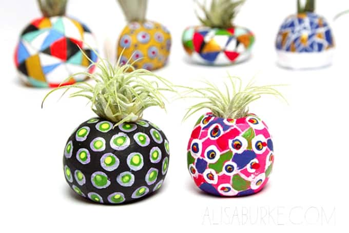 Clay Craft Ideas For Kids Part - 32: Air Plant Pots