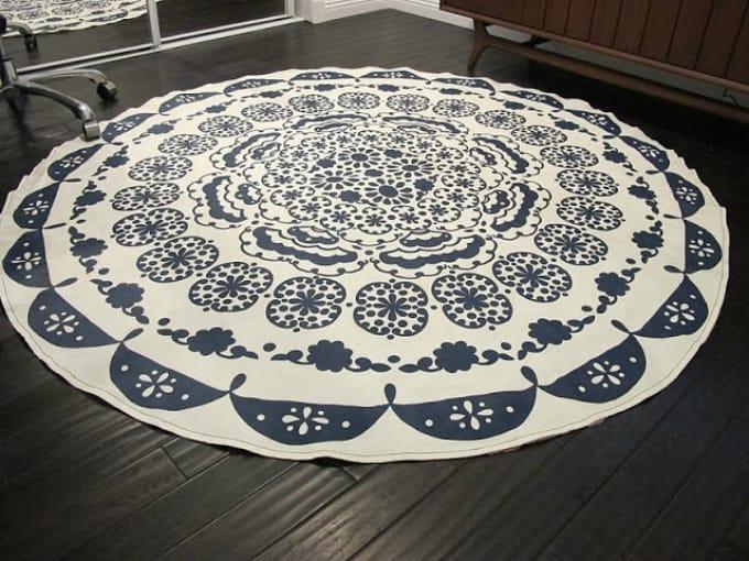 table cloth rug