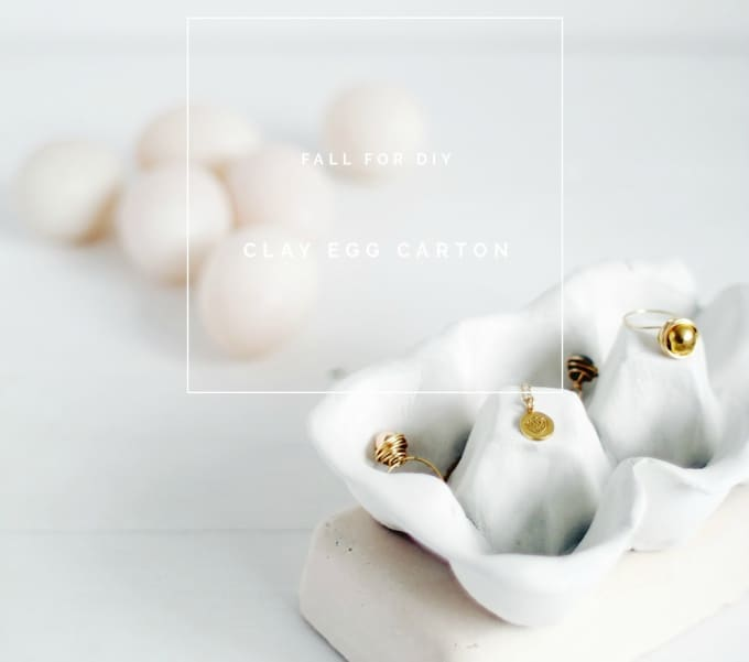 35 diy air dry clay projects that are fun easy heres another fantastic air dry clay craft project from fall for diy a clay egg carton which is perfect for storing jewelry now this is something you solutioingenieria Gallery