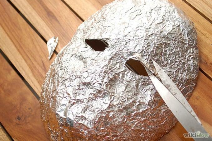 tin foil mask