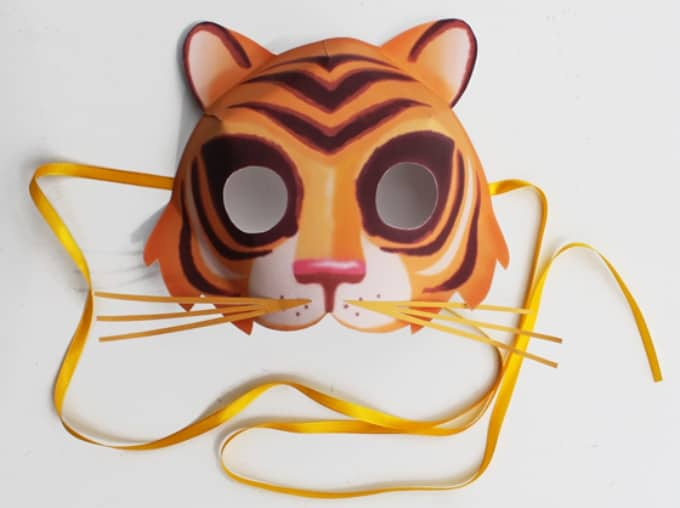 how to make mask using paper