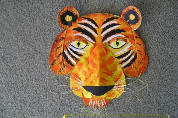 paper tiger mask