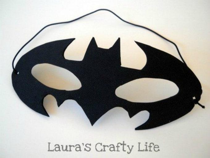 paper batman mask