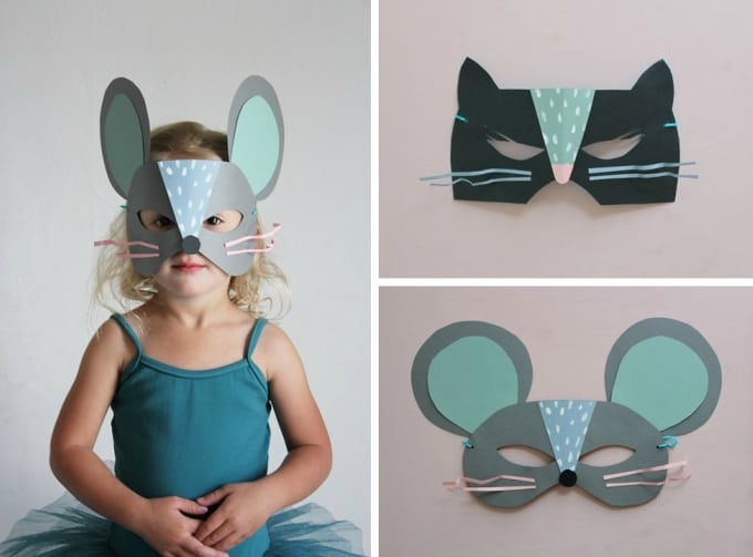cat and mouse masks