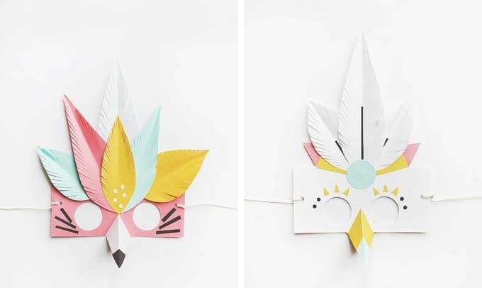 paper mask designs