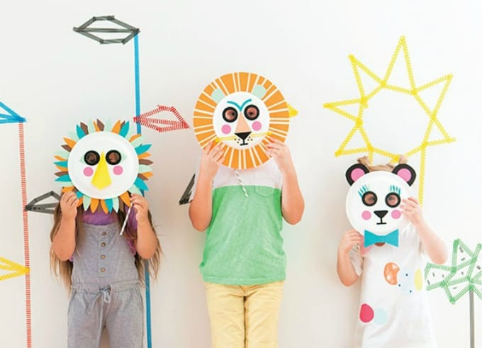 kid party masks