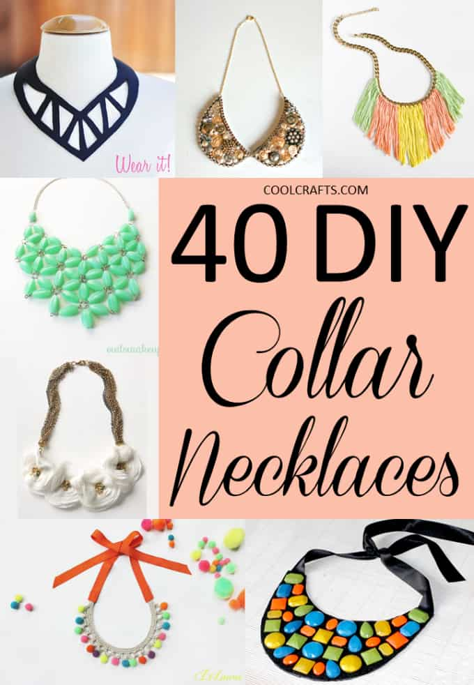 40 DIY Collar Necklace Ideas That Will Dazzle Any Audience
