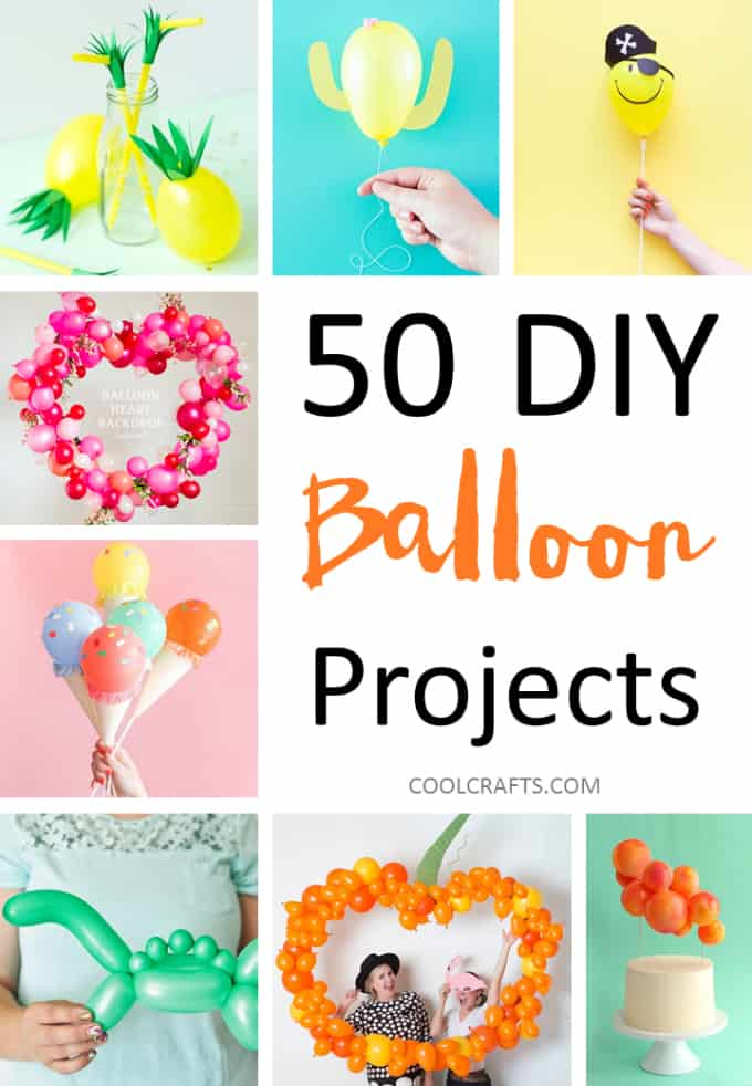 50 DIY Balloon Decorating Ideas