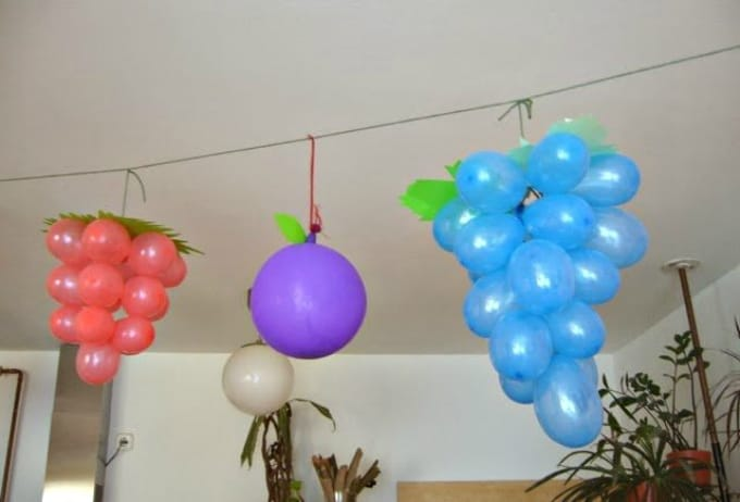 50 diy balloon decorating ideas cool crafts for Balloon decoration at home