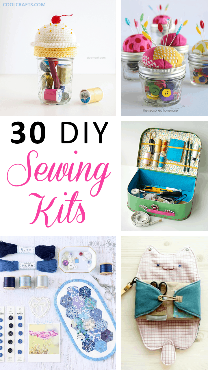 Sewing kits 30 ideas every sewing hobbyist will love cool crafts sewing kit ideas jeuxipadfo Gallery