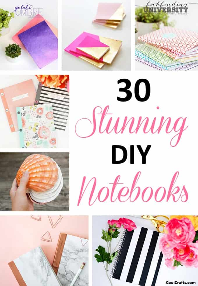 Customizable DIY Notebook Covers