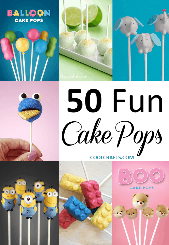 Cake Pops: 50 Fun Recipe Ideas You Can make in the Kitchen