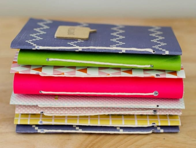 homemade journals