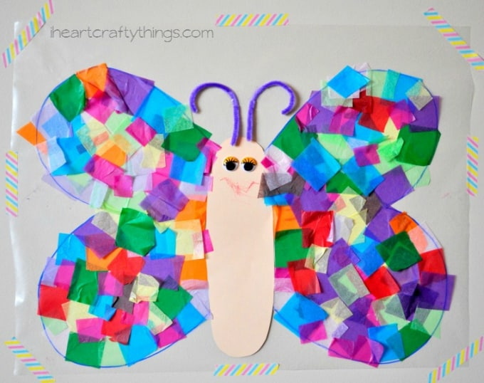 50 Butterfly Crafts You Can Do With Your Kids Cool Crafts