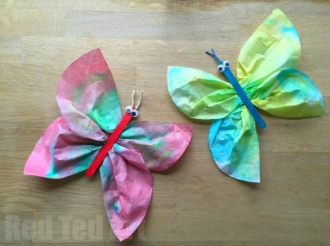 50 Butterfly Crafts You Can Do