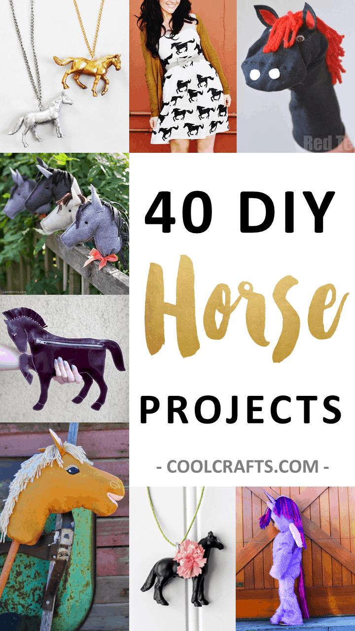 DIY horse craft ideas