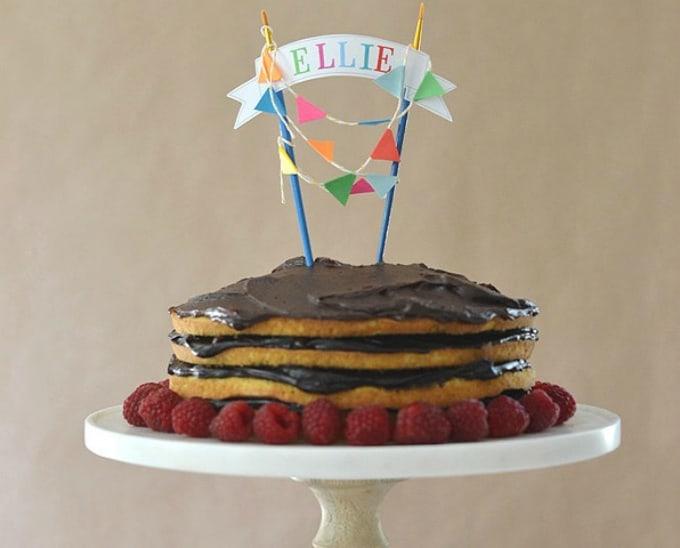 cake topper template