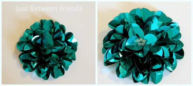 sequin flower