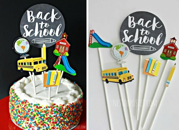 printable cake toppers