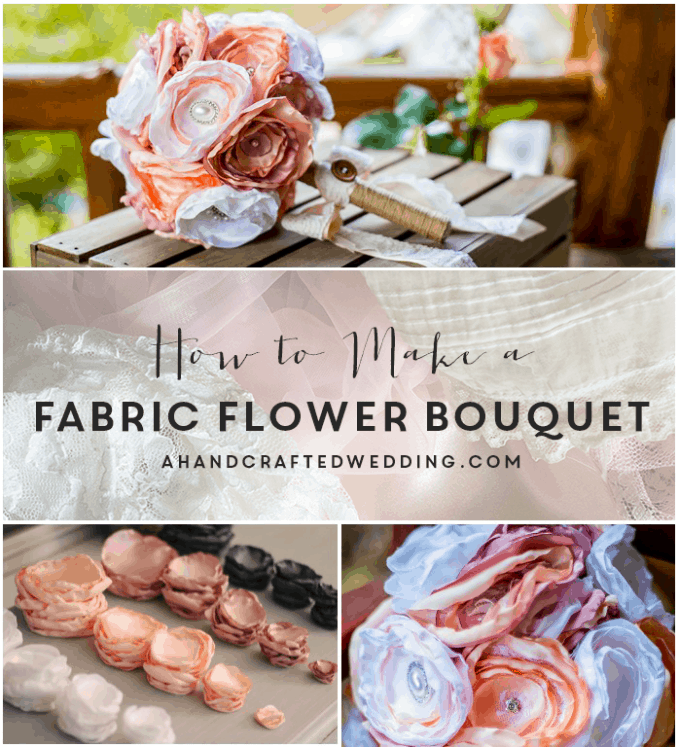 45 stunning wedding bouquets you can craft yourself cool crafts fabric flower bouquet solutioingenieria Gallery